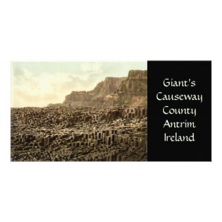 Giant s Causeway County Antrim Personalized Photo Card