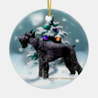 Giant Schnauzer Christmas Christmas Ornament