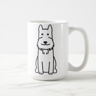 Giant Schnauzer Dog Cartoon Coffee Mug