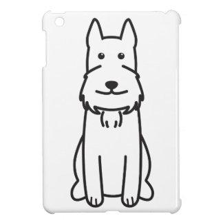 Giant Schnauzer Dog Cartoon iPad Mini Covers