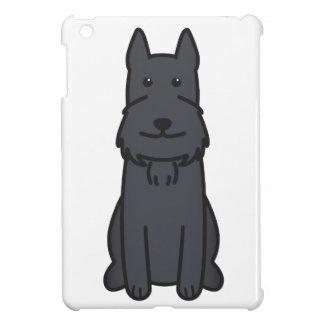 Giant Schnauzer Dog Cartoon iPad Mini Cover