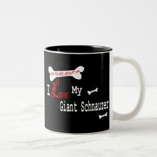 Giant Schnauzer (I Love) Mug