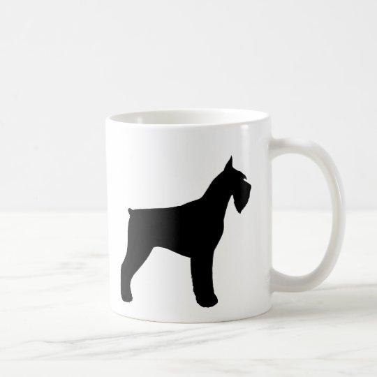 Giant Schnauzer Silhouettes Coffee Mug
