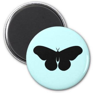 Giant Silkworm Moth 6 Cm Round Magnet