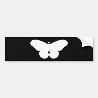 Giant Silkworm Moth Bumper Sticker