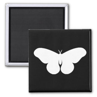 Giant Silkworm Moth Square Magnet