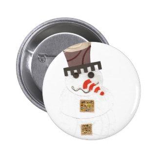 Giant Snowman Badge