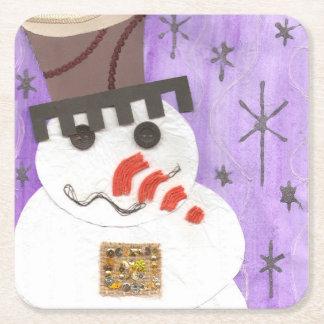 Giant Snowman Custom Coasters