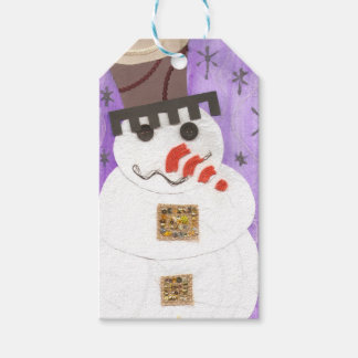 Giant Snowman Gift Tags