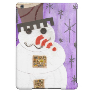 Giant Snowman I-Pad Air Back Cover For iPad Air