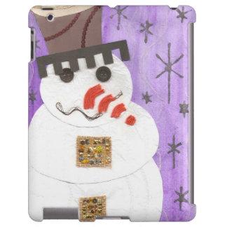 Giant Snowman I-Pad Back iPad Case