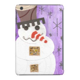 Giant Snowman I-Pad Mini Back iPad Mini Cases