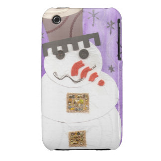 Giant Snowman I-Phone 3G/3GS Case iPhone 3 Covers