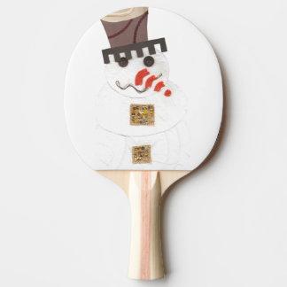 Giant Snowman Ping Pong Bat Ping Pong Paddle
