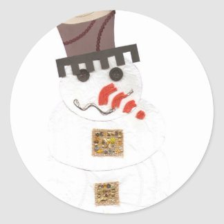 Giant Snowman Stickers
