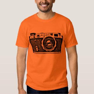 Giant Soviet Russian Camera - Black T-shirt