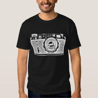 Giant Soviet Russian Camera - Negative Tshirt