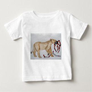 Giant spider fights lion..JPG Baby T-Shirt
