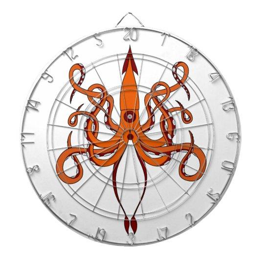 giant squid dartboard