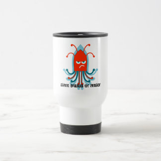 Giant Squid of Anger Travel Mug