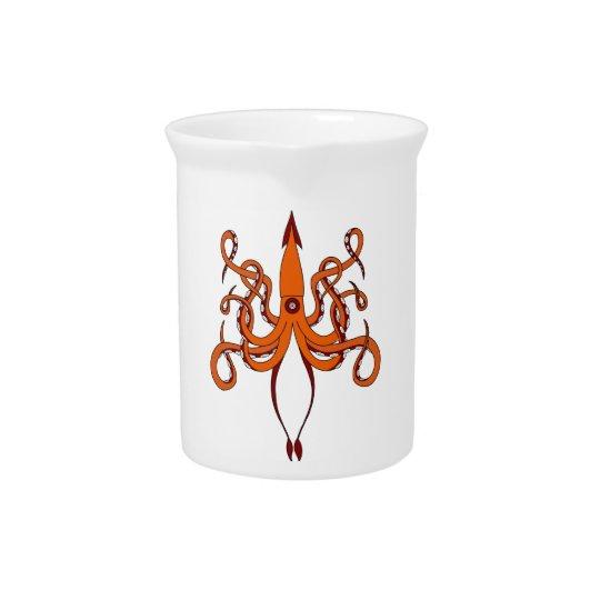 giant squid pitcher