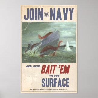 Giant Squid vs. Sub Poster