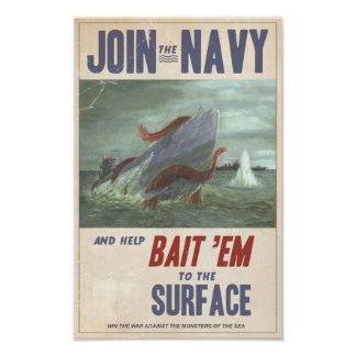 Giant Squid vs Sub Posters
