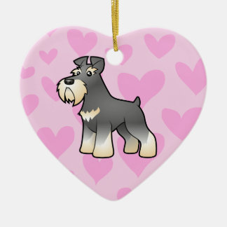 Giant/Standard/Miniature Schnauzer Love Christmas Ornament