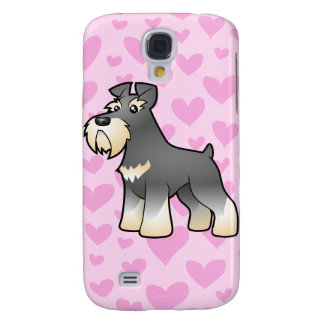 Giant/Standard/Miniature Schnauzer Love Galaxy S4 Case