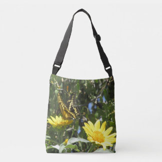 Giant Swallowtail Butterfly Crossbody Bag