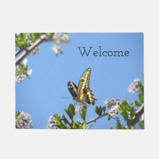 Giant Swallowtail Butterfly Doormat