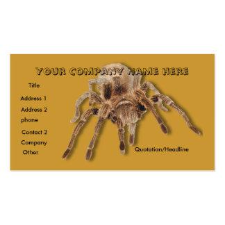 Giant Taratula business card