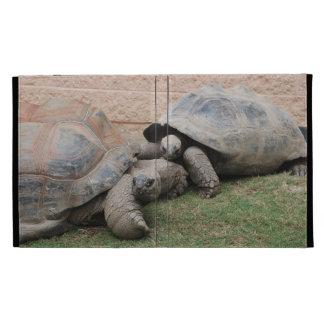 giant tortoises iPad folio cover