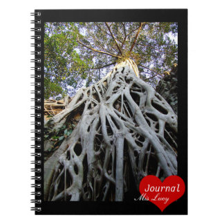 Giant Tree Roots (Notebook) Spiral Note Book