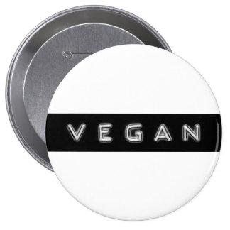Giant vegan embossed design badge