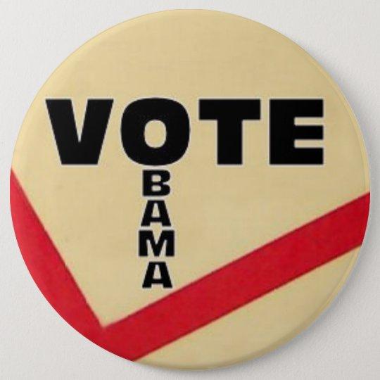 Giant Vote OBAMA Pin