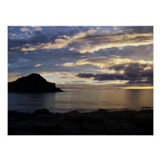 Giants Causeway at Dusk Poster