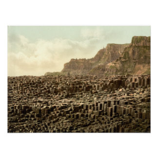Giant's Causeway, County Antrim archival print