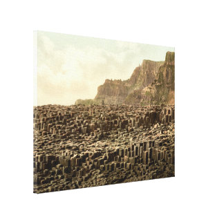 Giant's Causeway, County Antrim, Northern Ireland Stretched Canvas Prints