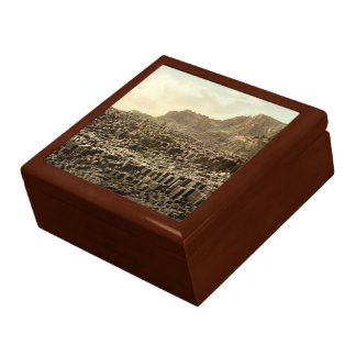 Giant's Causeway, County Antrim, Northern Ireland Large Square Gift Box