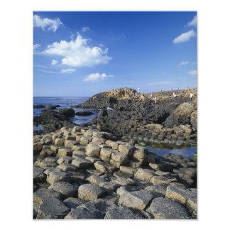 Giants Causeway, County Antrim, Northern Photo Art