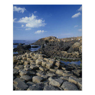 Giants Causeway, County Antrim, Northern Poster