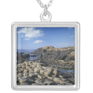 Giants Causeway, County Antrim, Northern Silver Plated Necklace