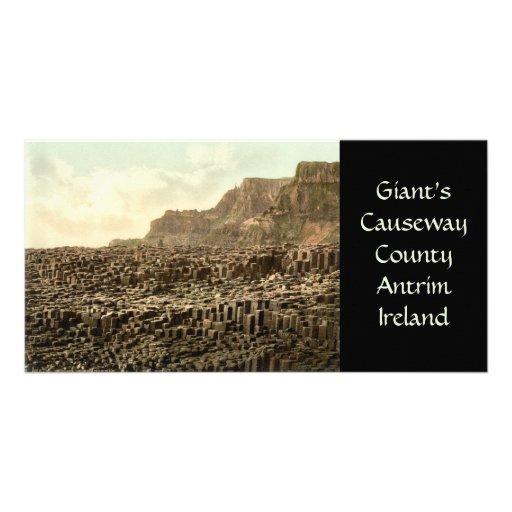 Giant's Causeway, County Antrim Personalized Photo Card