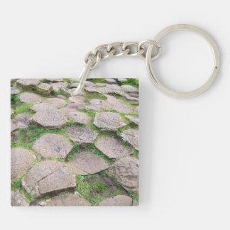 Giant's Causeway keychain