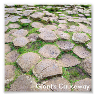 Giant's Causeway photo print