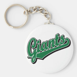 Giants in Green Keychains