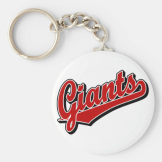 Giants in Red Key Chain