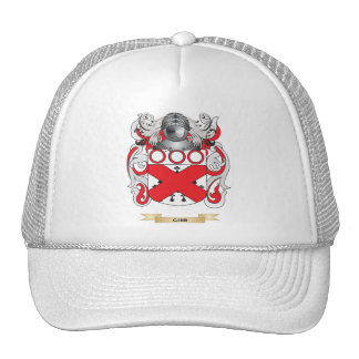 Gibb Coat of Arms (Family Crest) Hats