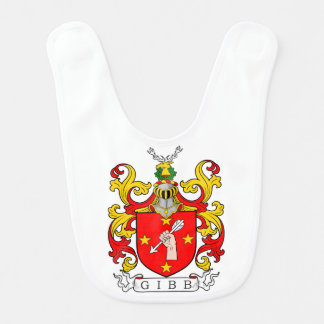Gibb Coat of Arms (Scottish) Baby Bib